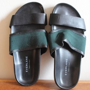 everlane made in italy slip on sandals